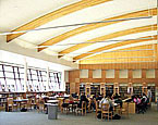 Library and Classroom Building at Menlo Atherton High School